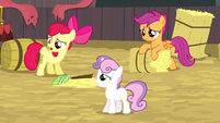 Cutie Mark Crusaders still blank flanks S5E6