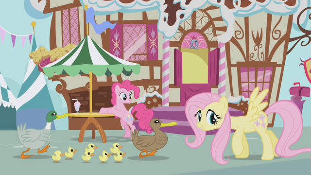 File:Fluttershy helping ducks S1E05.png