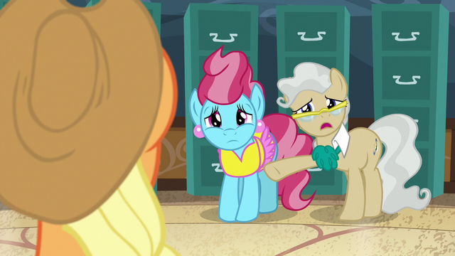 "File:Mayor Mare ""hard to know when it is a good time"" S7E13.png"