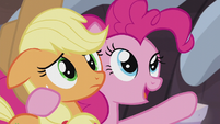 "Pinkie ""you'll do great in the flag finding mission!"" S5E20"