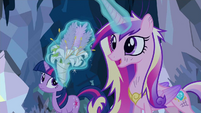 Princess Cadance solve problem S2E26