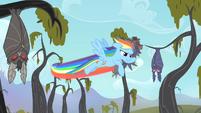 Rainbow taking the bats S4E07