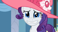 Rarity my lie face S2E9