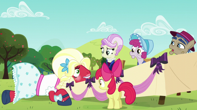 File:Orchard Blossom accidentally damages the table S5E17.png