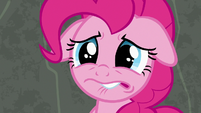 Pinkie Pie about to cry S7E4
