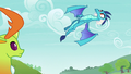 Princess Ember swooping into the air S7E15.png