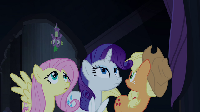 File:Applejack watches Spike go flying S4E03.png