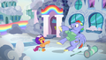Bow Hothoof pulls his hoof away from Scootaloo S7E7.png