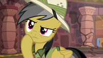 Daring Do thinking about the door puzzle S6E13