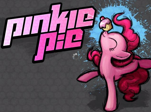 File:FANMADE Fighting is Magic Pinkie Pie character art.jpg