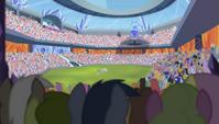 Stadium field distance shot S4E24