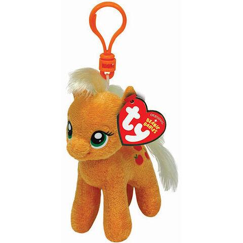 File:Applejack Ty Beanie Baby keychain.jpg