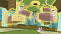 Flurry Heart levitating ponies and hospital beds S7E3.png