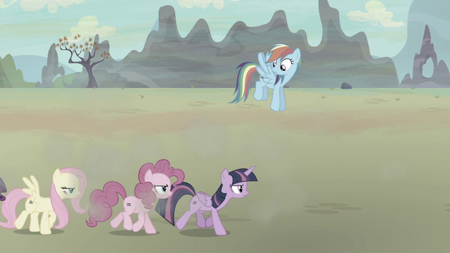 File:Mane Six moving leisurely S5E2.png