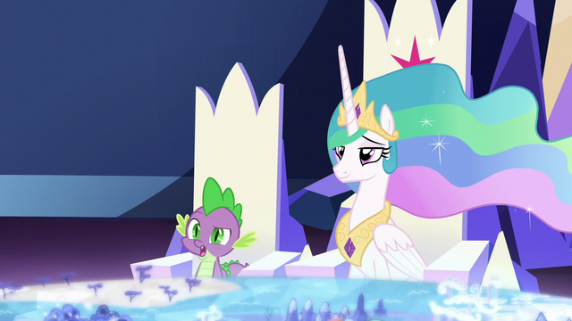 File:Spike confused by Twilight's logic S7E1.png