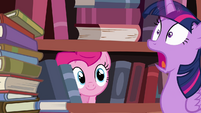 Twilight Sparkle surprised scream S4E09