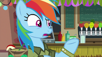 "Rainbow Dash ""of course there are"" S6E13"