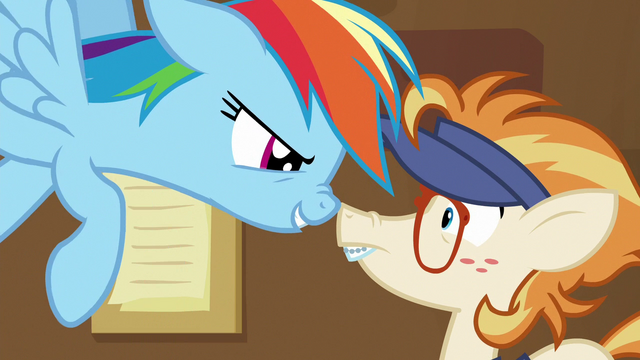 File:Rainbow gets in the Attendant Pony's face S7E2.png