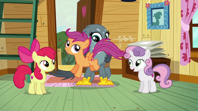 File:Scootaloo hopping excitedly across Gabby S6E19.png