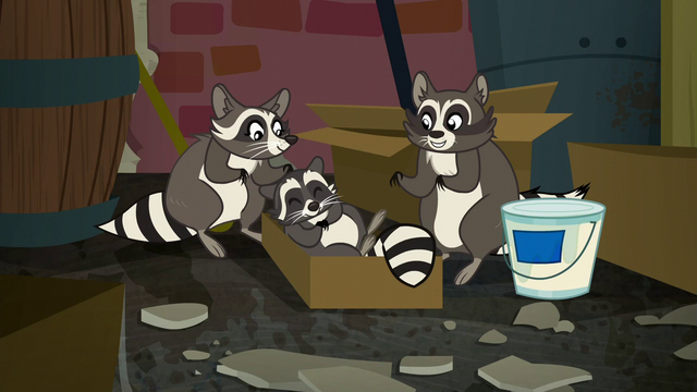 File:Happy family of raccoons S6E9.png