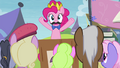 Pinkie Pie mentions Princess Celestia S4E22.png