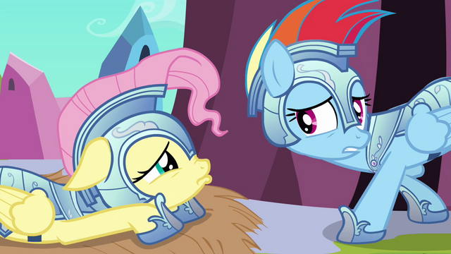 """File:Rainbow Dash """"Unless that isn't important to you"""" S3E02.png"""