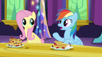 "Rainbow Dash ""she'd rather keep losing than"" S5E3"
