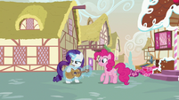 Rarity taking Pinkie Pie's guitar S7E9