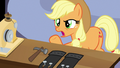 "Applejack ""puttin' holes in the clothes on purpose?!"" S7E9.png"