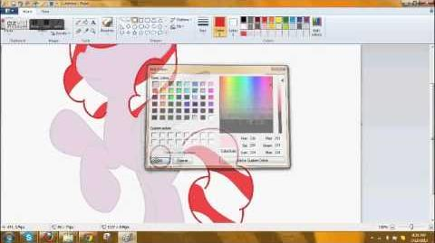 Drawing my MLP OC Candy
