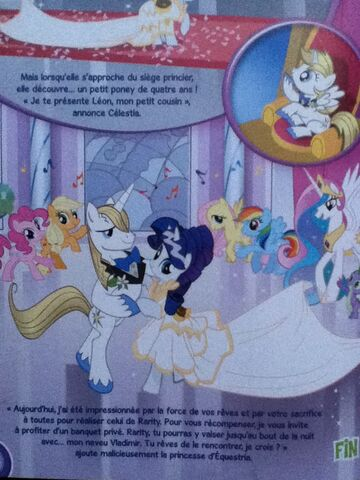 File:Leon is introduced in the French My Little Pony magazine.jpg