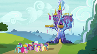 Mane Six returning home S6E17