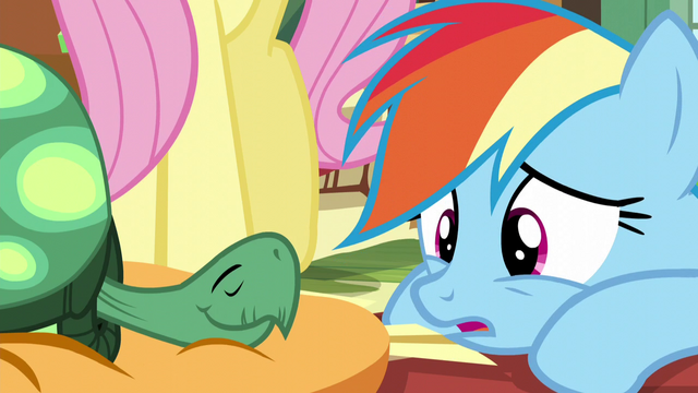 "File:Rainbow ""too many Daring Do stories"" S5E5.png"