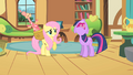 Twilight groans angrily at Fluttershy S01E22.png
