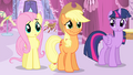 Applejack about to laugh S4E13.png