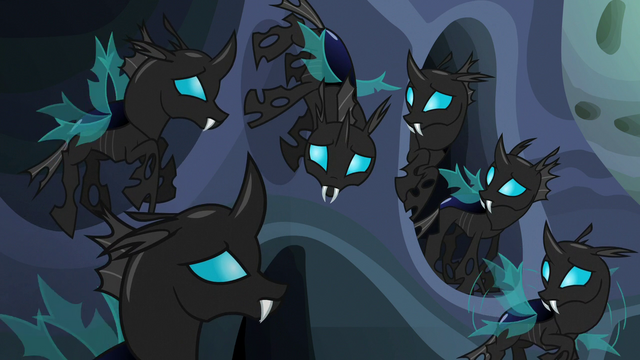 File:Changelings start to absorb Starlight Glimmer's words S6E26.png