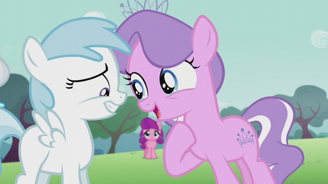 File:Cotton Cloudy smiles nervously while Diamond Tiara talks directly at her S5E18.png