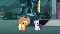 Filly Applejack and Rarity S3E05.png