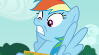 Rainbow Dash in sheer disbelief S6E15