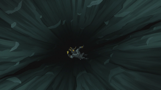 File:Arimaspi falls into the Abysmal Abyss with the Idol of Boreas S5E8.png