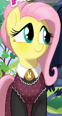File:Friends Forever issue 10 American Gothic Fluttershy.png