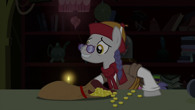 File:Purchasing the Alicorn Amulet S3E5.png