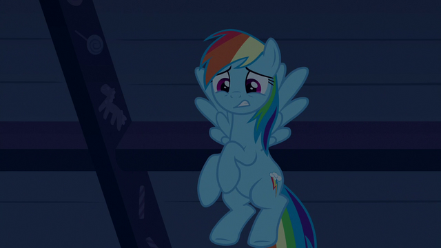 File:Rainbow looks down at zombie Pinkie and Cakes S6E15.png
