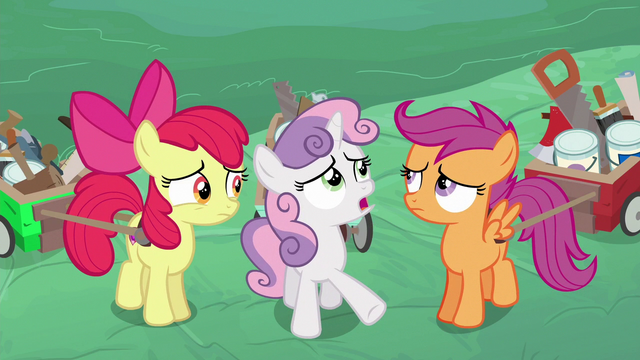 File:Sweetie Belle interpreting the older ponies' words S6E14.png