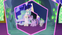 Twilight Sparkle ends the first simulation S7E1