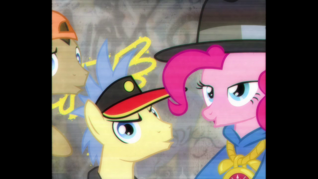 "File:Pinkie Pie, Goldengrape and Dr. Hooves ""bold!"" S4E21.png"