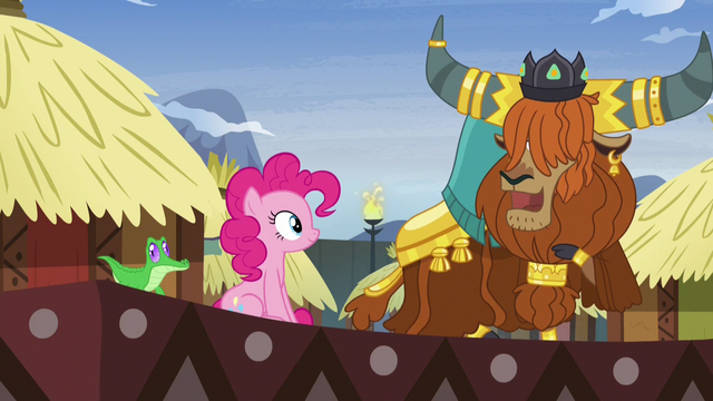 File:Prince Rutherford impressed by Pinkie's yak speak S7E11.png