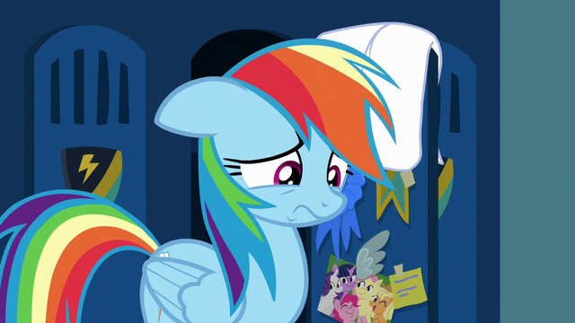 File:Rainbow Dash looking remorseful S7E7.png