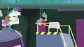 Spike kicks the henchpony S4E06.png