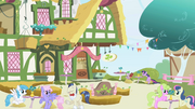 Twilight and Spike at a café S1E03.png